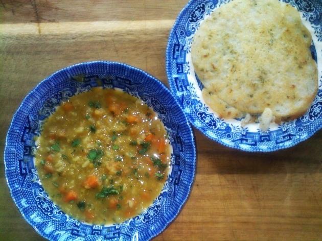 uttapam+soup